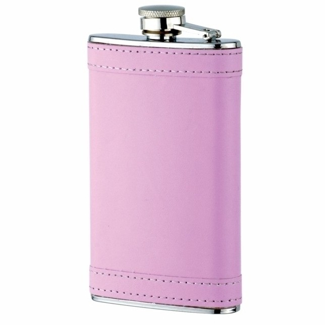 lady's pink flask