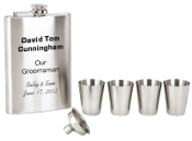Text Personalized Flask Set