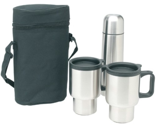 7 piece flask set